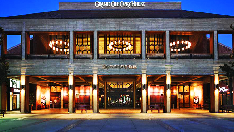 Grand Ole Opry House Added to Historic Places
